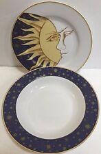 Tabletrendz Sakura Lumina Stars Sun & Moon Face Stoneware Dinnerware 10PC. Set