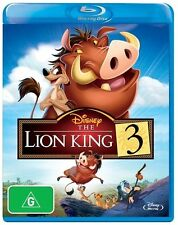 The Lion King 3 Blu-ray Discs NEW