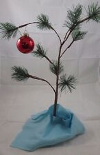 Official Peanuts Charlie Brown Musical Christmas Tree & Blanket 24 Inches High