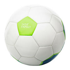 Soccer Ball White Blue Green Boys Girls Sport Brand NEW Ikea SOLUR Great Gift
