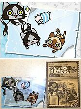 Monster Hunter AIROU Clear File Skate A5 Sz CAPCOM Licensed New Cat Kitty