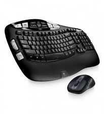 Logitech Wireless Wave Combo Mk550 With Keyboard and Laser Mouse, New
