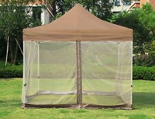 9.8 x 9.8 Ft Gazebo Mesh Mosquito Netting for Patio Outdoor Garden Canopy Tent
