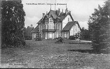 03 VALLON-EN-SULLY CARTE POSTALE CHATEAU DE FREMONT CACHET MILITAIRE 1915