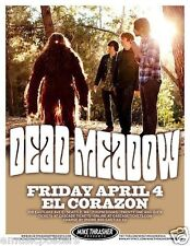 DEAD MEADOW 2014 SEATTLE CONCERT TOUR POSTER - Stoner Rock, Heavy Metal Music