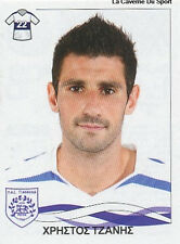 N°305 CHRISTOS TZANIS PAS GIANNINA STICKER PANINI GREEK GREECE LEAGUE 2010