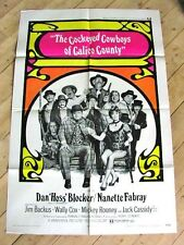COCKEYED COWBOYS WESTERN Movie Poster DAN BLOCKER NANETTE FABRAY MICKEY ROONEY