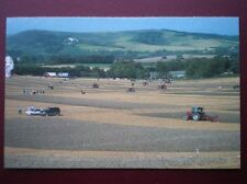 POSTCARD B18 SUSSEX PLOUGHING MATCH BELOW MOUNT CABURN