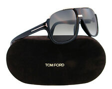 New Tom Ford Sunglasses Men Aviator TF 335 Black 01P Eliott 60mm