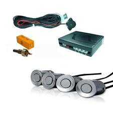 Argento 4 Point Posteriore Retromarcia Sensore di parcheggio KIT con Altoparlante Cicalino MINI R50 R52