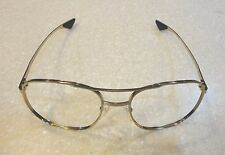U.S. AIR FORCE ISSUE AIRCREW GOLD EYEGLASS FRAMES - MADE IN THE USA - NEW IN PKG