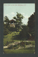 1910 VIEW IN CITY PARK WATERTOWN NY POSTCARD  #13804