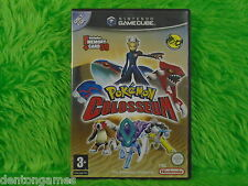 gamecube *POKEMON COLOSSEUM* Up To 4 Players Nintendo PAL ENGLISH UK Version