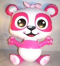 PINK PANDA BEAR  INFLATABLE 24 IN NOVELTY TOY blow up  inflate novelty NEW bears