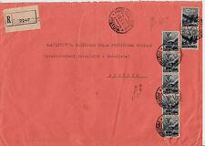 LUOGOTENENZA-RE DI MAGGIO-Cinque 40c+Due 10L(546+558)-Racc. Pistoia 18.5.1946