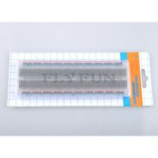 830 Tie Points Solderless Breadboard Crystal Protoboard Transparent Bread Board