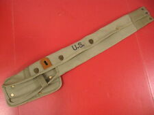 WWII M1 Carbine OD Green Canvas Holster or Case Marked: Lub Prod Co 1943 - Repro