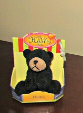 """Only Hearts Pets """"Honey"""" Black Bear New - EXTREMELY RARE"""