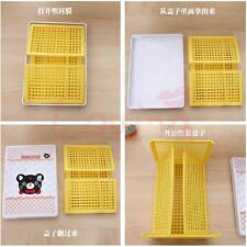 Plastic Folding Storage Container Basket Crate Box Stack Foldable Kumamon
