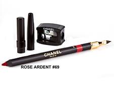 Chanel Le Crayon Levres Lip Definer Pink Red Lipliner Pencil - Rose Ardent 69