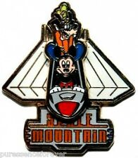 WDW Space Mountain: Mickey Mouse & Goofy Slider Pin