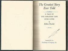 The Greatest Story Ever Told Fulton Oursler HC 1949