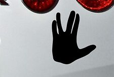 LARGE Star Trek Vulcan Salute Funny Decal Sticker 210mm jap vw funny bk