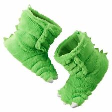 New Carter's Green Dinosaur or Monster Claw Slippers Size 5 6  NWT Dress Up Boy