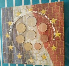 BU FRANCE Euro 2000 Neuf sous blister - French official Euro coin set 2000 UNC