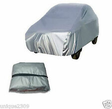 Unique Car Body Cover K-2XL Silver  Matty For  Fiat punto