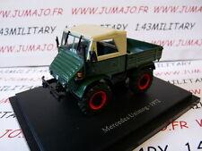 Tracteur 1/43 universal Hobbies MERCEDES UNIMOG 1972
