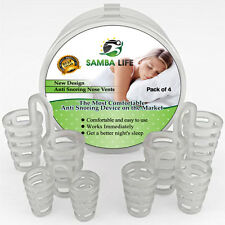 4 Nose Vents Anti Snoring Devices Sleep Apnea Aids Nasal Dilators Instant Relief