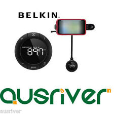 Belkin TuneBase FM Transmitter Wireless Hands-Free Call for iPod & iPhone 3G 4 S