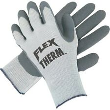 New Mens Dozen (Quantity 12) Size Large Latex Palm Thermal Knit Work Gloves