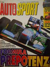 Auto & Sport ROMBO 28 1994 Test nuova ALFA 145 - Schumacher perde la testa