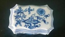 """Scarse Antico porcellana di Meissen """"Cipolla Blu"""" tabella Vesta di circa 1815+"""