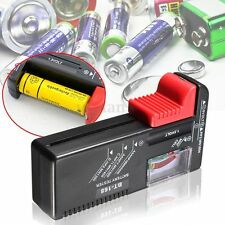 Universal Digital LCD Battery Checker Volt Tester for Cell AA AAA C D 9V Button