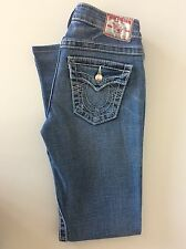 "True Religion Disco Joey  Big T Jeans Boot Leg  Waist 26"" Inside Leg  29"" Inches"
