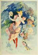 A4 photo CHERET, Jules les affiches illustrees 1896, Opera 3 imprimé Poster