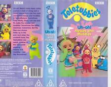 TELETUBBIES  Uh Oh MESSES AND MUDDLES~VHS PAL  VIDEO~ A RARE FIND~VINTAGE