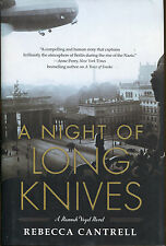 A Night of Long Knives-Rebecca Cantrell-1st Ed./DJ-2010-Hannah Vogel
