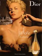 AFFICHE PUBLICITE ROULEE - DIOR J'ADORE - L'ABSOLU - CHARLIZE THERON - 120x160