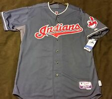 Authentic Majestic, 48 XL, CLEVELAND INDIANS, FRANCISCO LINDOR, COOL BASE Jersey