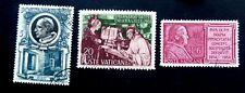 Vatican Stamps 1953-54  Scott #159, 171, 178   Usued