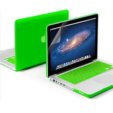 """2in1 Anti-Scratch Hard Case Cover Protector for MacBook Air White Pro 11"""" 13""""15"""""""