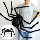 Black Spider Halloween Decoration Haunted House Prop Indoor Outdoor Wide 30 Inch