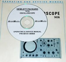 HP 141A OSCILLOSCOPE SERVICE & OPERATING  MANUAL