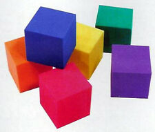 Cubes Quietlite 6 colors, Set of 102 durable foam Learning Resources X20245
