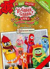NEW DVD A VERY AWESOME YO GABBA GABBA LIVE HOLIDAY SHOW FREE 1ST CLS S&H