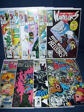 The New Warriors Comic Run #26 - #35 NM with Bags and Boards Marvel